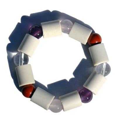 EM Edelstein Wasser Energie Ring™ mit Jaspis