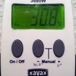 EM-Vermehrung Temperaturfühler Einstellung Thermostat Einschalttemperatur: 30,8°C