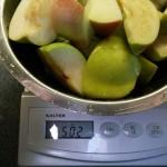 Entsafter Test 500g Äpfel