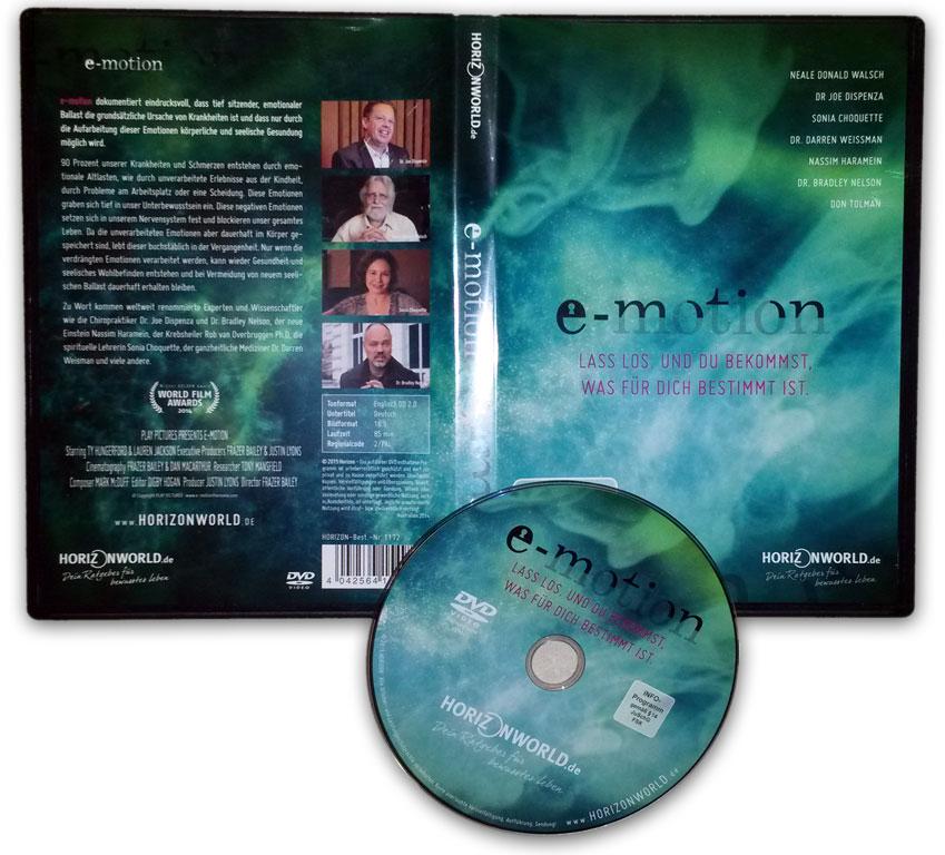 e-motion Filmkritik - Schmerzen mit dem Unterbewusstsein heilen mit Atemtherapie
