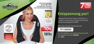 Gratis Coupon 10% Rabatt / Gutschein Massagegerät für Schulter, Nacken und Körper