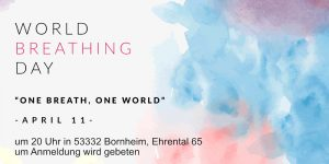 Weltatemtag Bornheim Bonn 11 april 2019