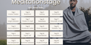 YouTube-Meditationstagen - Peter Beer