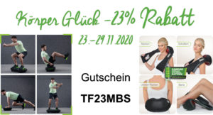 23% Rabattcode Gutschein Vibrationsplatte und Massagegerät Donnerberg